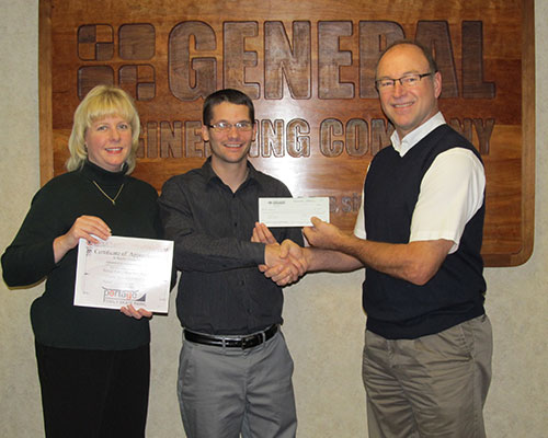 Portage Family Skate Park Shows Appreciation for Work Donated by GEC
