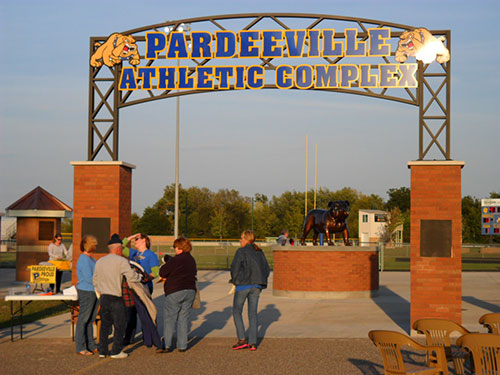 Pardeeville Sports Complex Entrance