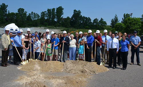 Reedsburg Culvers Breaks Ground