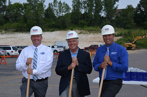 Reedsburg Culvers Groundbreaking