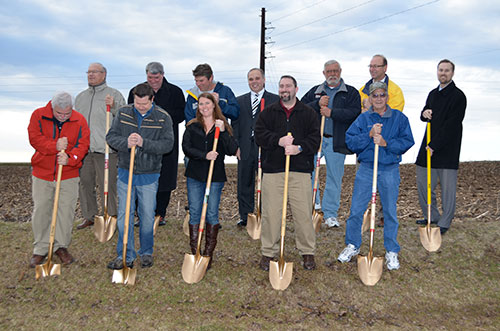 Town of Vienna Groundbreaking