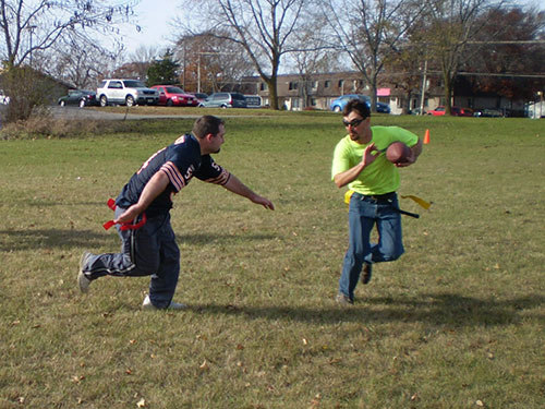 2010 Flag Football Game