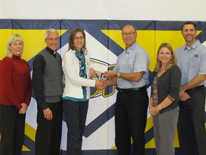 2013 Donation to St. Mary School Renovations
