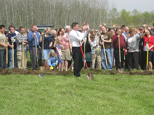 New Testament Baptist Church Groundbreaking