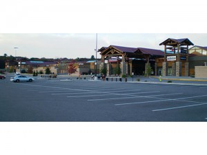 Dells Outlets Completed Construction