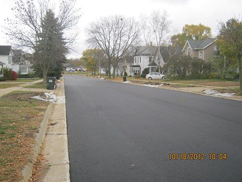 2012 Portage Street & Utility Rehabilitation - Completed Project