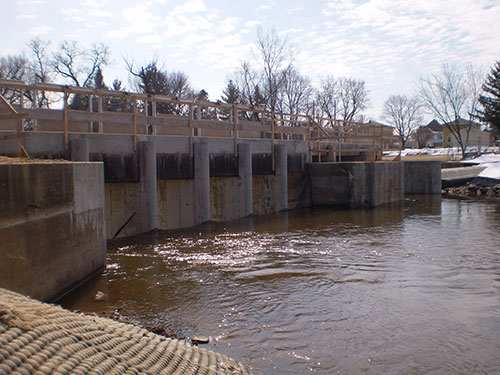 Udey Dam Reconstruction Completed