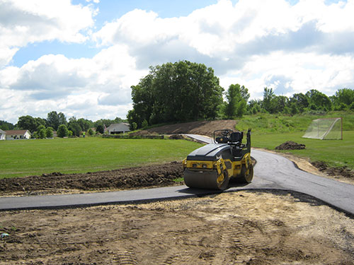 Valley View Park Path Construction