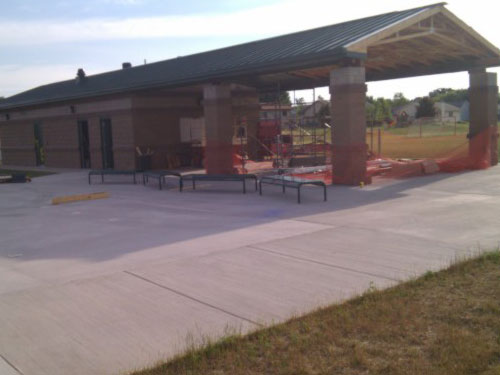 Valley View Park Shelter Construction