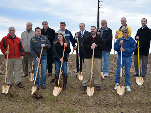Vienna Town Hall Groundbreaking