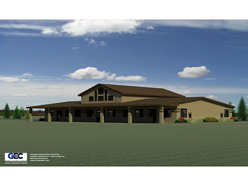 3D Rendering of Proposed WTA Learning Center