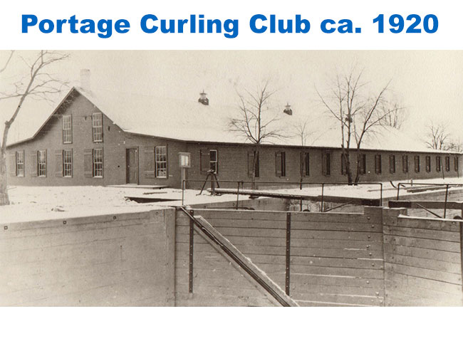 Portage Curling Club ca. 1920