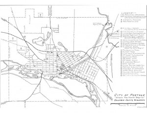City of Portage - Hand Drawing