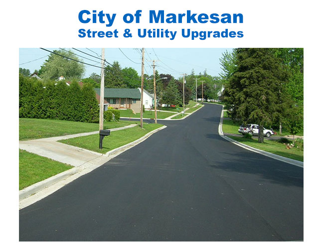 City of Markesan Street & Utility Upgrades