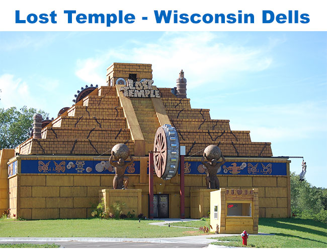 Lost Temple Attraction