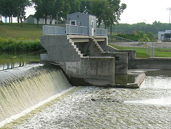 Hustisford Dam - Dam Inspection & Rehabilitation