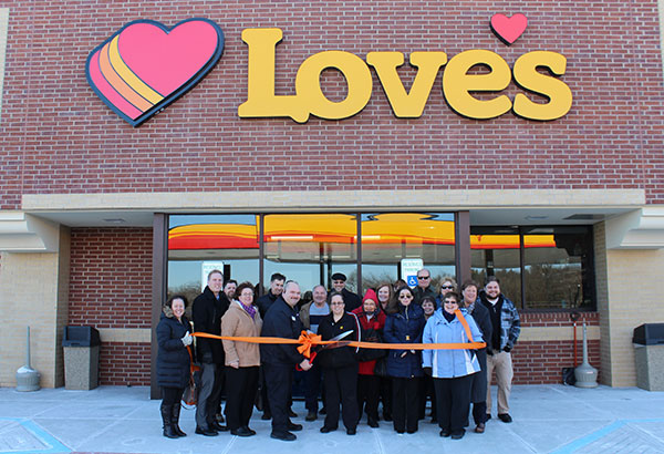 Love's Ribbon Cutting