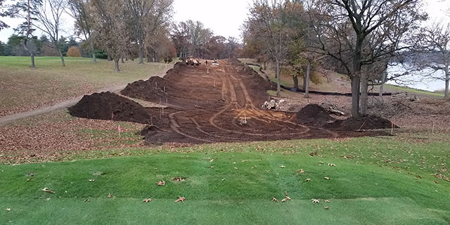 Site Work at the Portage Country Club