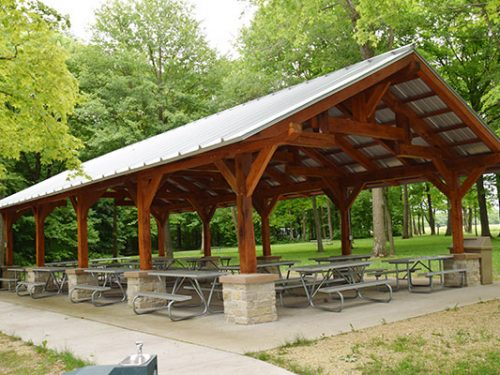 Brigham Park Shelter - Blue Mounds, WI