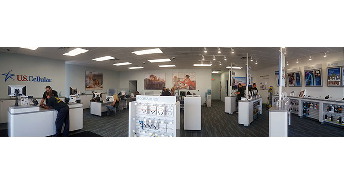 US Cellular Store Interior