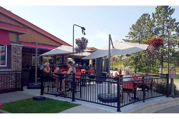 Monk's Bar & Grill New Patio