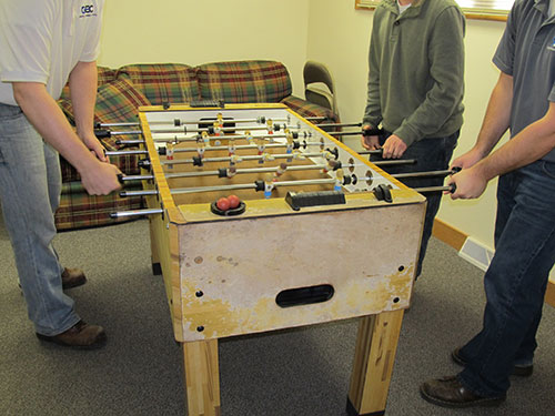 2014 Foosball in the Lounge