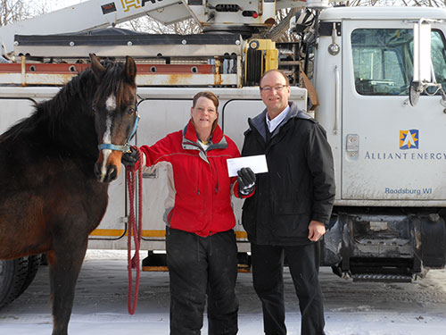 2014 Donation to Veterans Equine Trail Services (V.E.T.S.)