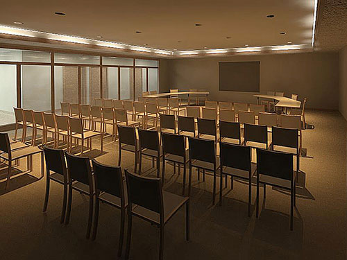 Gerstenkorn Administration Building Board Room 3D Rendering