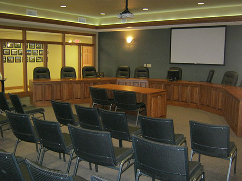 Gerstenkorn Administration Building Board Room Completed