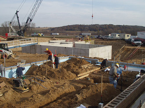 Dekorra Utility District Wastewater Treatment Facility Construction