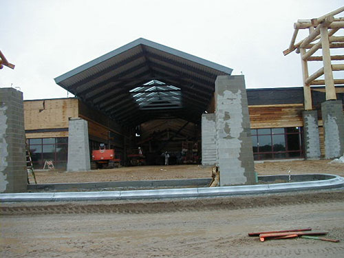 Dells Outlets Construction