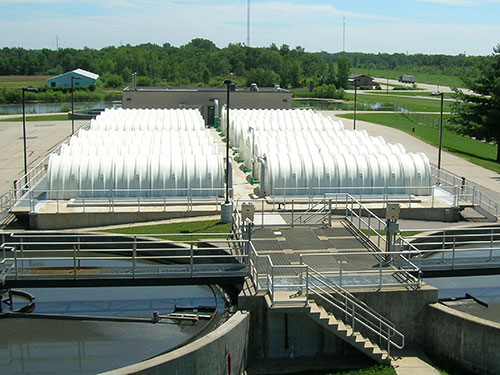 Portage Wastewater Treatment Plant RBC Replacement Completed