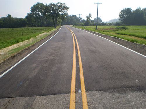 Town of Sumner Completed Road Work