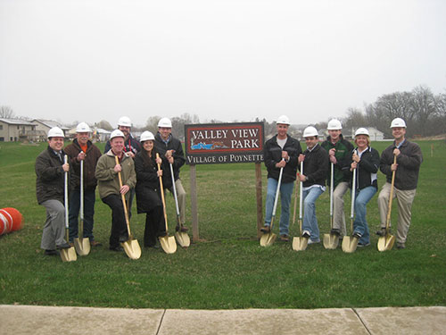 Valley View Park Groundbreaking