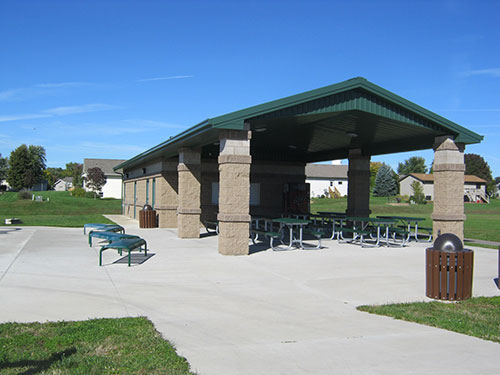 Valley View Park Completed Shelter