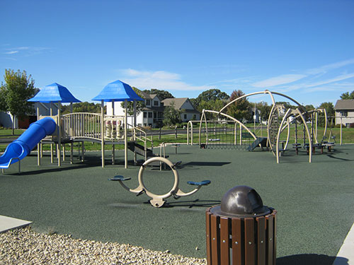 Valley View Park Completed Playground