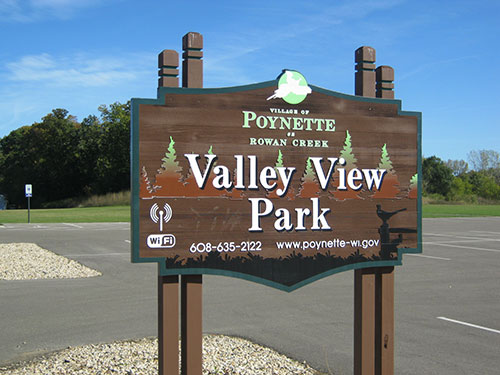 Valley View Park New Sign