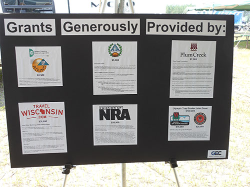 Display of Grants