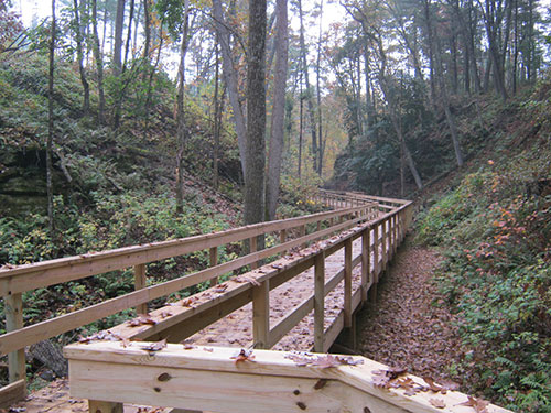 Camp Wawbeek Boardwalk Completed