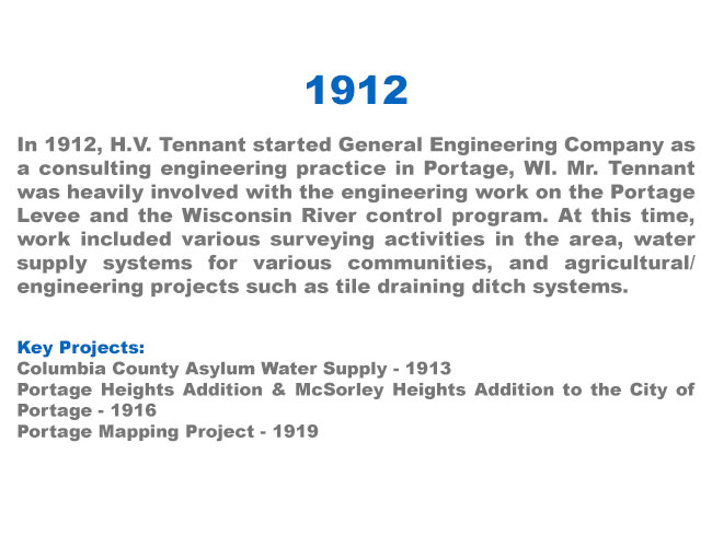 1912 - General Engineering Company opens its doors