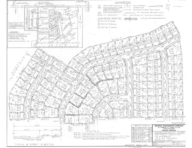 Acewood Subdivision Addition 1964