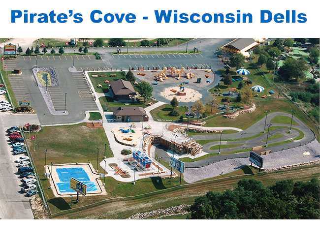 Pirate's Cove Site Design