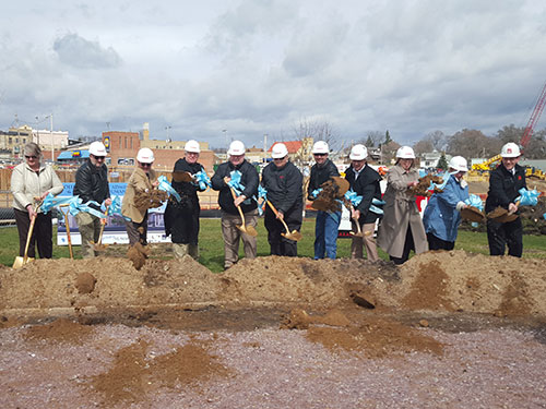Columbia County Complex Groundbreaking