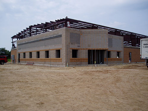 Mauston DPW Building - Construction