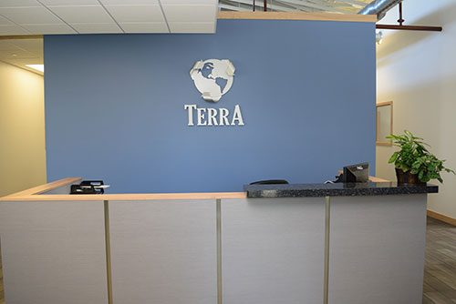 Terra Engineering - Front Desk