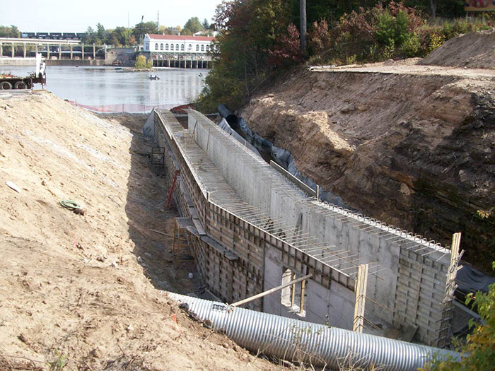 Hulbert Creek Concrete Culvert Installation - Wisconsin Dells