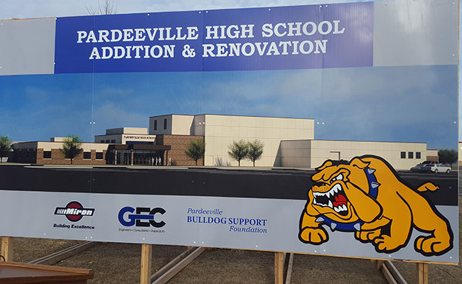 Pardeeville High School Addition & Renovation Groundbreaking