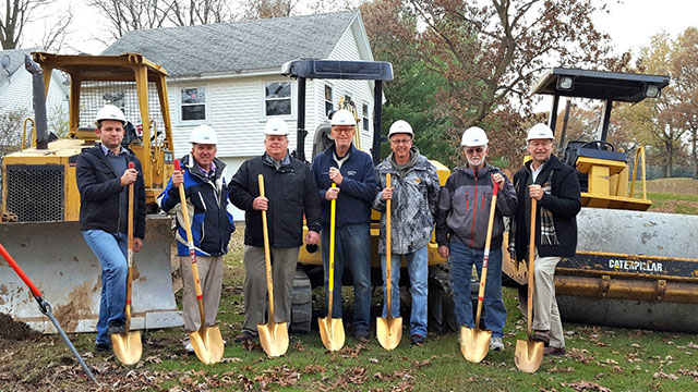Portage Country Club Groundbreaking