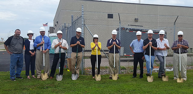 Portage Water Department Breaks Ground on New Building