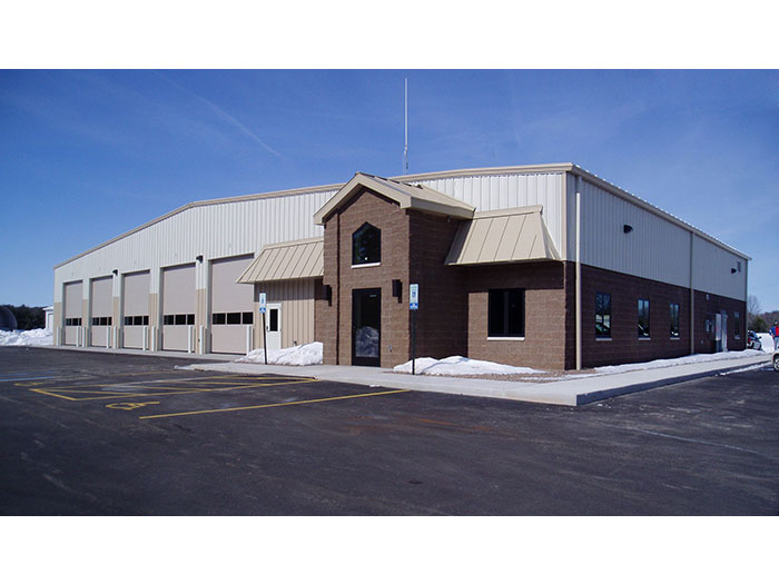 Wild Rose Fire District Fire Station